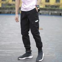 Chao brand covert casual pants jogging tooling Yu wenle legged pants slim fit shrink legged pants for men