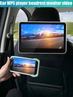 12v 10 1 inch car headrest stereo monitor bluetooth mp5 player with usb sd tf fm hd 1080p video screen mp5 multimedia player