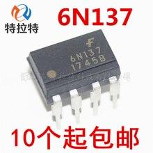 10 teile/los 6N137 EL6N137 Dip-8 Optokoppler Marke Neue Original