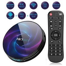 HK1 MAX Plus Smart TV Box Android 9.0 4GB 128GB 64GB RK3368PRO octa-core H.265 4K WIFI Google Youtube Netflix IP TV décodeur