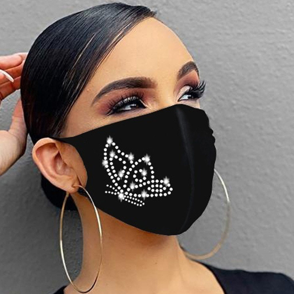 Maskë për maskara kristali zonjat e partisë nxehtë diamanti - Bizhuteri të modës - Foto 3