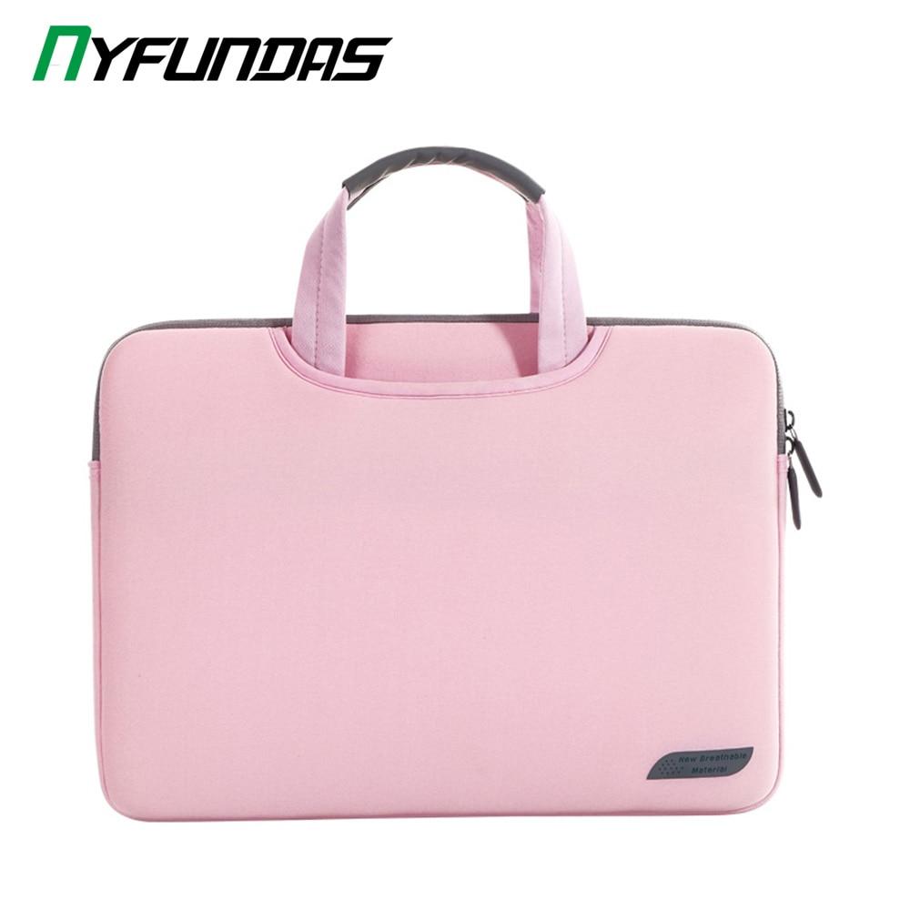 Сумка для ноутбука 13 15 дюймов Сумка для ноутбука деловая сумка для Macbook Air Pro 13,3 15,6 чехол сумка для hp lenovo Dell Xiaomi 15,6