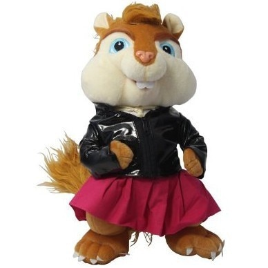 Alvin And The Chipmunks 35cm Plush cute good quality Toy Figure Pet Chipmunks Brittany Christmas Halloween festival gift kid