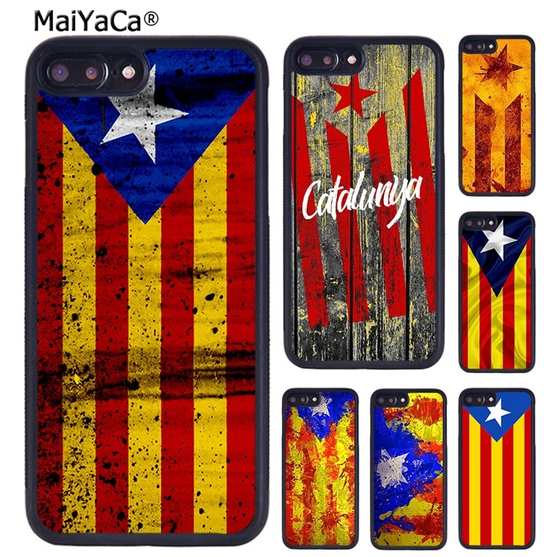 Чехол для телефона MaiYaCa Catalunya с флагом Каталонии для iPhone X XR XS 11 Pro MAX 5 6 6 S 7 8 Plus Samsung Galaxy S6 S7 S8 S9 S10