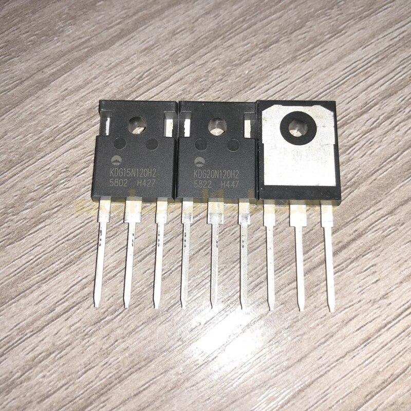 10 шт. KDG20N120H2 или KDG20N120H1 или KDG20N120HZ или KDG20N120HN или KDG20N120 20N120 TO-247 20A 1200V мощность бтиз