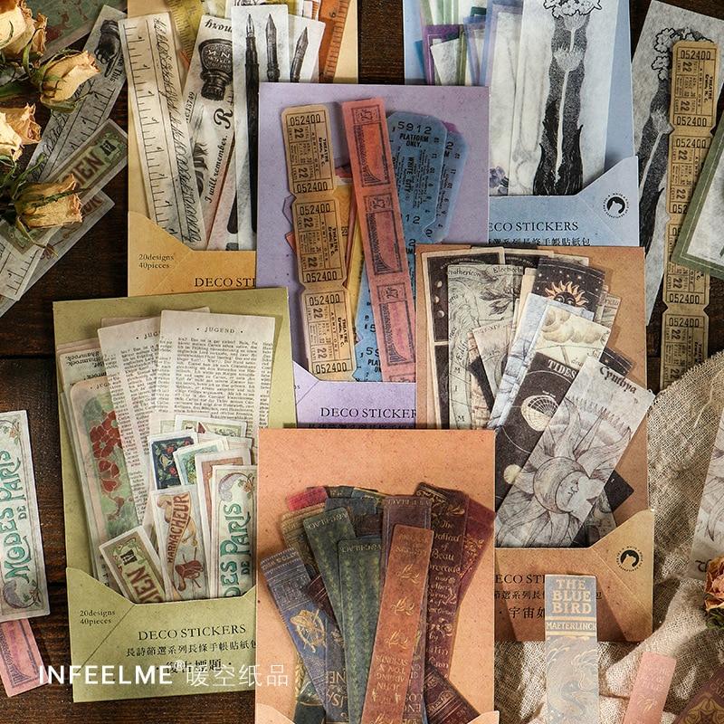 40-pz-lotto-di-kawaii-di-cancelleria-adesivi-retro-disegno-di-legge-di-arte-del-mestiere-di-diy-scrapbooking-album-spazzatura-ufficiale-felice-planner-diario-adesivi