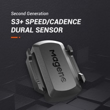 Nuevo modelo Magen S3 + Sensor de cadencia velocímetro de bicicleta ANT + Bluetooth 4,0 para Strava garmin bryton iGPSPORT Ordenador de bicicleta