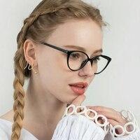 Модные оптические очки с защитой от сисветильник, оправа для очков для женщин и мужчин, очки кошачий глаз, прозрачные линзы, очки для компьют...