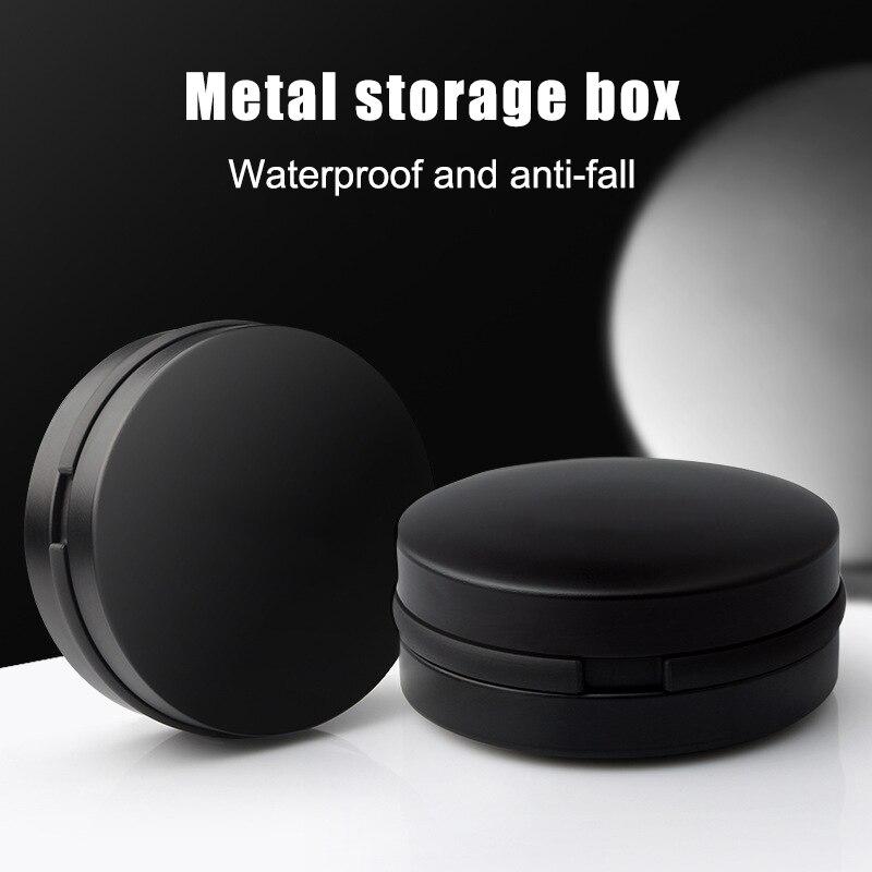 Aluminum Alloy Earphone Storage Case Hard Waterproof Portable Headphone Headset Box SGA998
