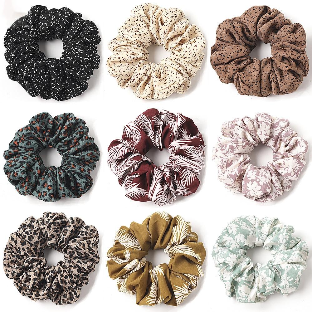 Grande macio scrunchie feminino meninas elástico cabelo bandas de borracha designer acessórios para o cabelo meninas headwear rabo de cavalo titular