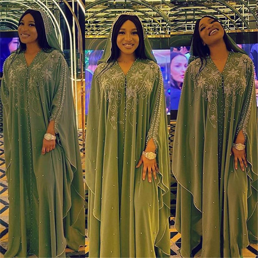 Baibazin áfrica europa e américa vestido robe pérola chiffon indústrias pesadas quente diamante cannonball incluindo saia interna