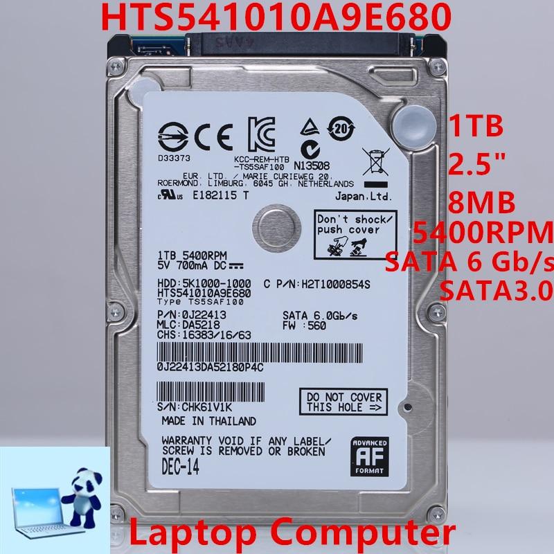 جديد HDD ل Hgst العلامة التجارية 1 تيرا بايت 2.5