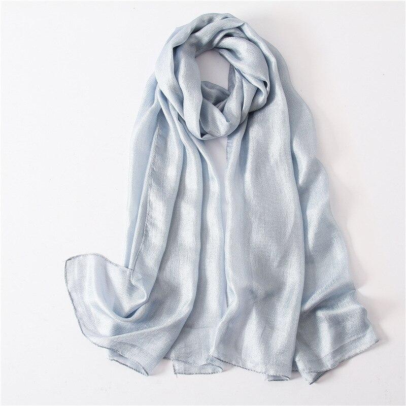 Luxury Brand 2019 New Summer Silk Linen Scarf For Women Soft Wraps and Shawls Beach Hijab Large Size Bandana Female Foulard