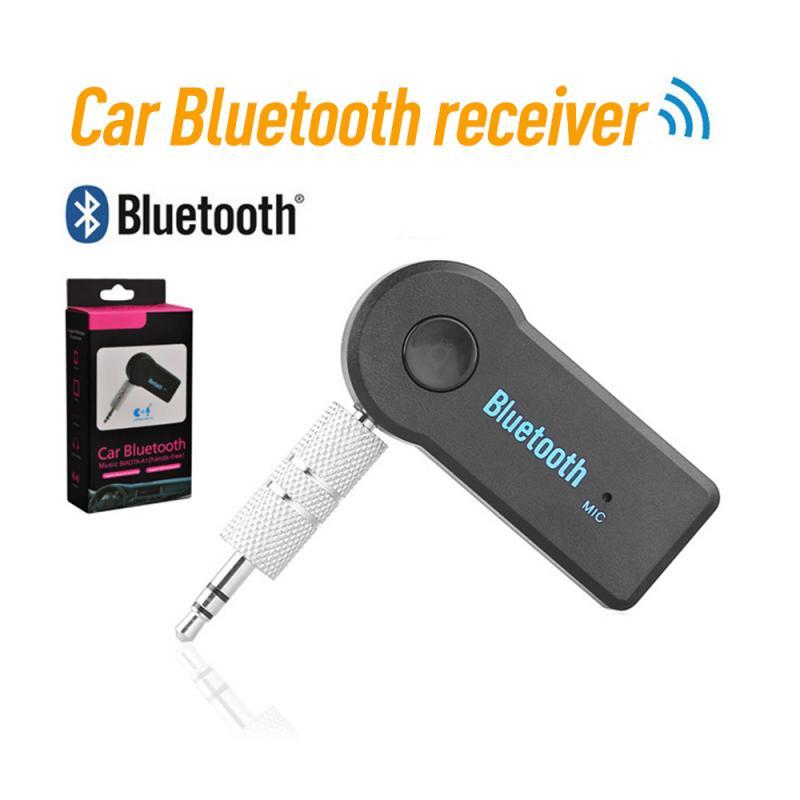 Bluetooth передатчик адаптер 3,5 мм Джек Мини Bluetooth приемник адаптер громкой связи Вызов Bluetooth 4,0 Aux музыкальный приемник