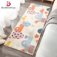 bubble kiss childrens room bedside carpet cute cartoon print rugs for living room soft and water absorption bathroom floor mat