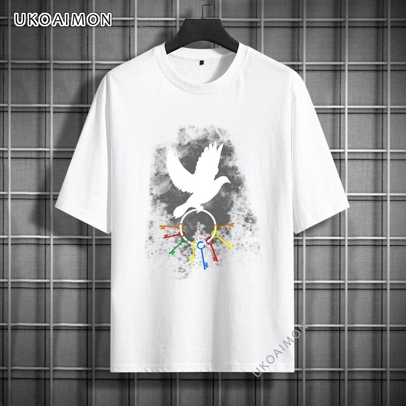 Подарок, Индивидуальные детские футболки с ключами, дешевые футболки на заказ, крутые хлопковые летние футболки, подарки