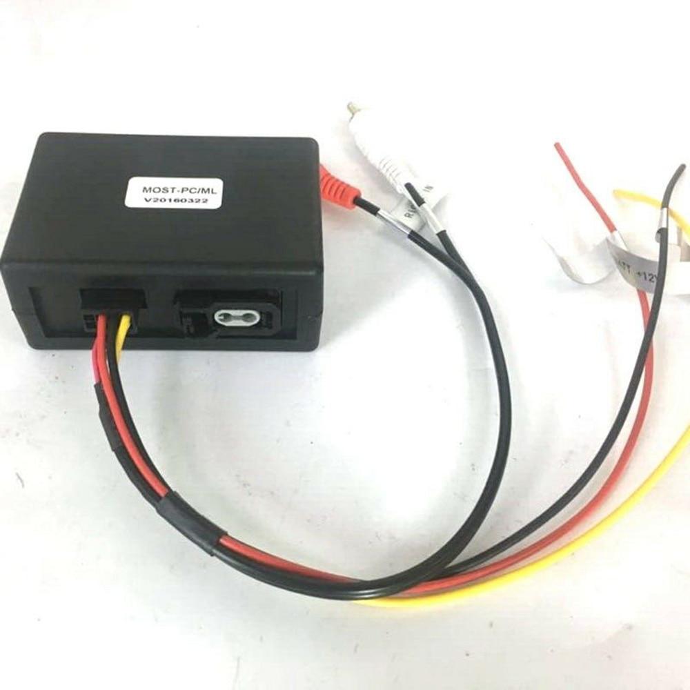 Черный Автомобильный волоконно-оптический блок декодирования ABS декодирования конверсионная коробка для Cayenne для Mercedes Benz/ML/GLR/W164/W251 для Porsche