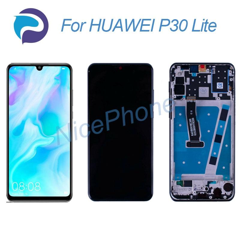 P30 لايت lcd شاشة 2312*1080 اللمس محول الأرقام عرض الجمعية استبدال MAR-L01A/L21A/LX1/LX1M/LX2/L21MEA/L22A/L22B/LX3A LCD