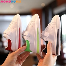 Boys Sneakers For Kids Shoes Baby Girls Toddler Shoes Fashion Brand White Pu Casual Light Soft Sport