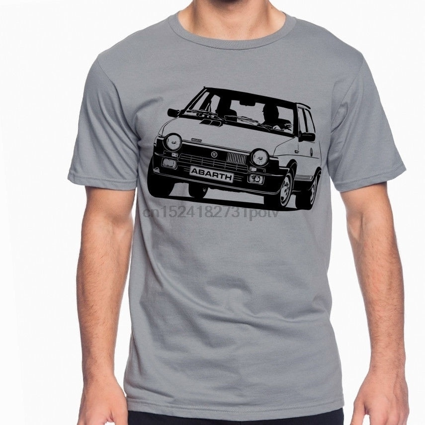 Fiat Ritmo Strada Abarth 125 TC Soft Cotton T-Shirt Multi Colors S-3XL