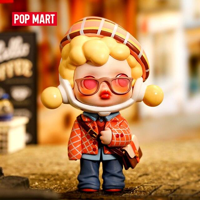 POPMART Skullpanda Hypepanda Series Blind Box Doll Binary Action Toys Figure Birthday Gift Kid Toy