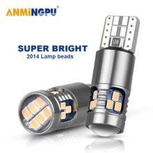 ANMINGPU-feu de signalisation T10 W5W 168   2 pièces, Super lumineux, 2014SMD, W5W, 194 et