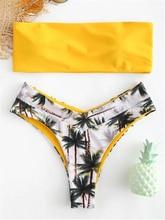 Snake Bikini Vrouwen Snake Skin High Cut V-hals Twee Stukken Bikini Badmode Badpak Badmode Badpak Maillot De Bain femme
