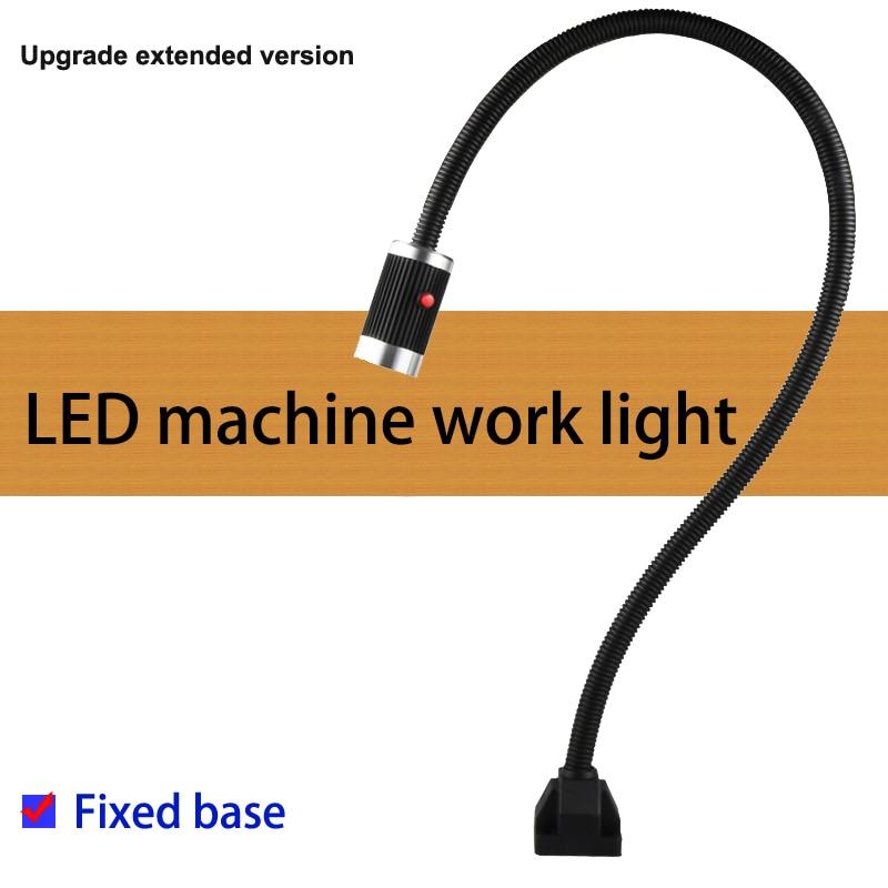 الصمام آلة العمل مصباح 24V/220V 9W LED الإضاءة مع 50 سنتيمتر/80 سنتيمتر/100 سنتيمتر/120 سنتيمتر لآلة الصناعية CNC الطحن آلة ضوء