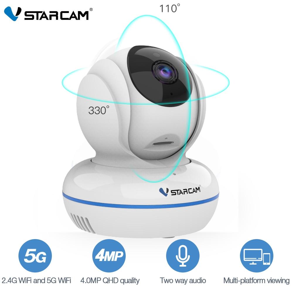Vstarcam C22Q 4MP Full HD 2,4G/5G WiFi Cámara Wi-Fi Cámara Monitor de bebé wifi Pan/Tilt seguridad de Video vigilancia cámara CCTV IP