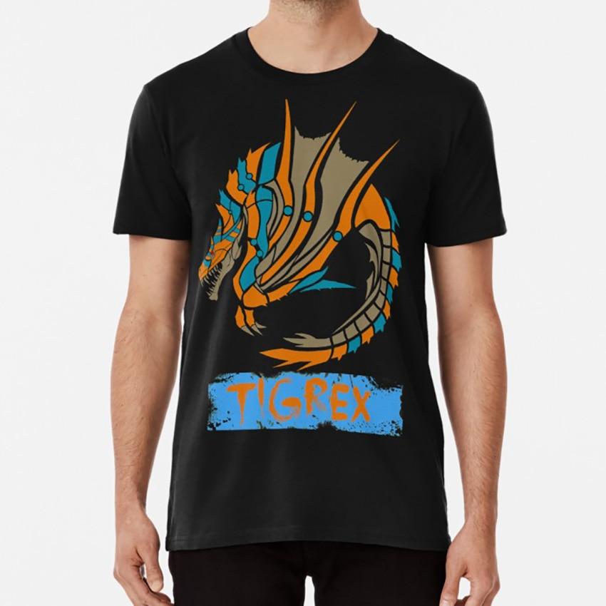 The Circular Roaring Wyvern T Shirt Monster Hunter Tigrex