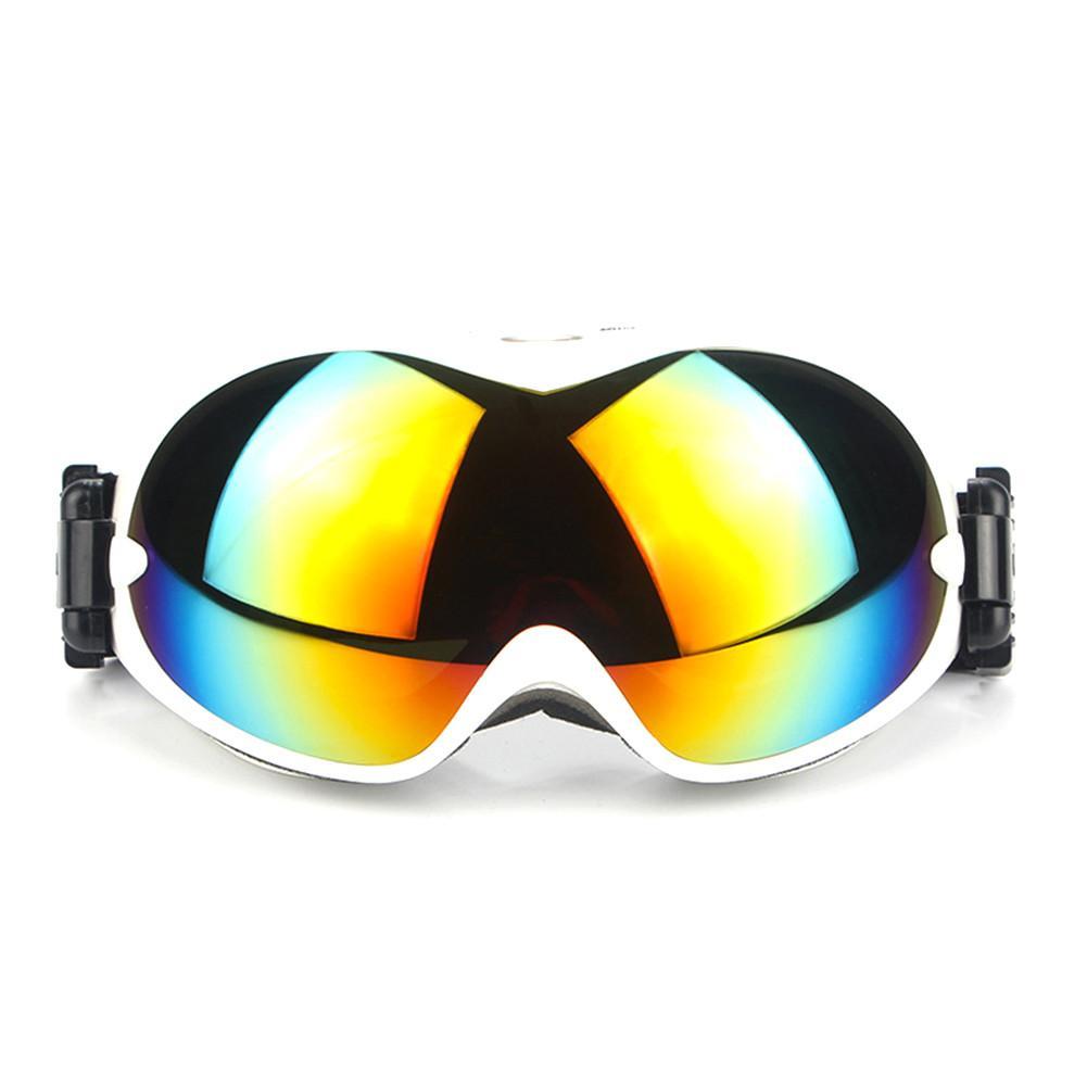 1 Uds. De invierno a prueba de viento doble capa Anti-niebla esquí gafas de deportes al aire libre gafas de sol a prueba de polvo Moto ciclismo