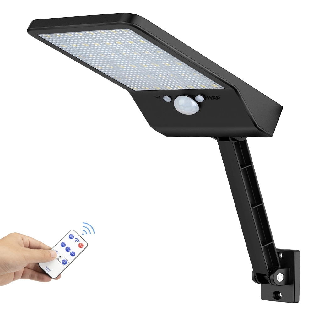 48 LED Solar Wall flood Lights Outdoor Decor Waterproof PIR Motion Sensor For Garden Street path Lamps