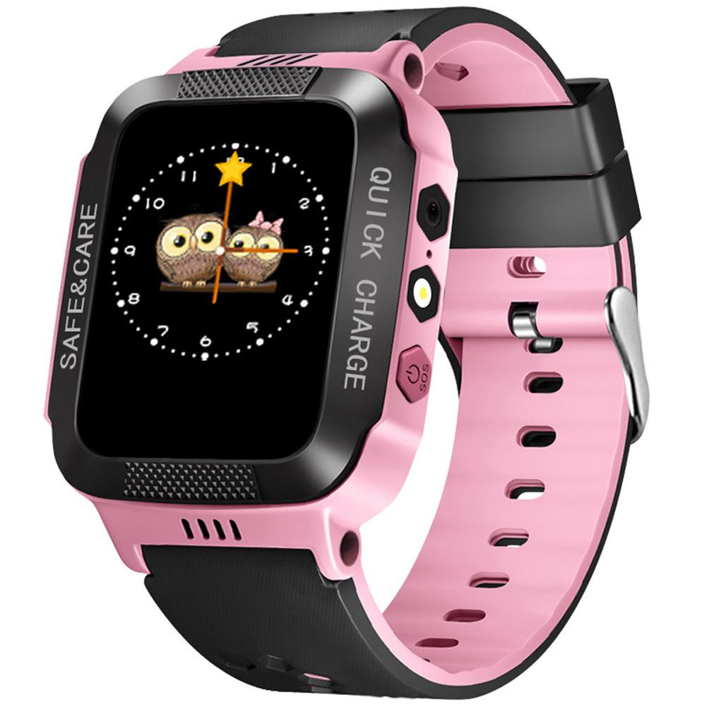 Y21S SOS GPS Locator Touch Screen Support Calling Camera Lighting 2G Network Kids Smart Watchs Children's Gifts