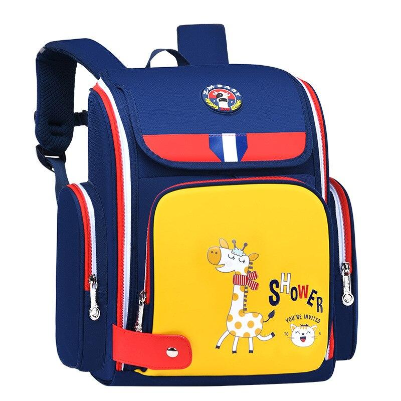 Mochilas escolares impermeables para niños y niñas, Mochila escolar de primaria, ortopédica