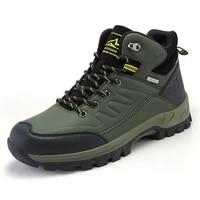 men hiking shoes no slip outdoor trekking climbing mountain trail boots collision avoidance walking hunting fishing man sneakers