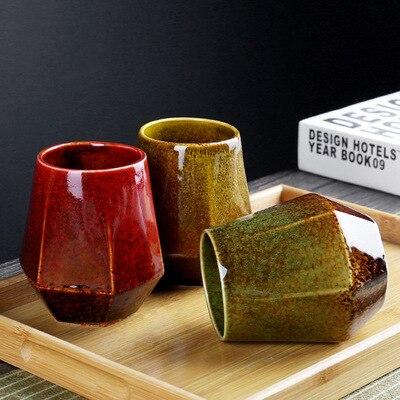 الإبداعية خمر النمط الياباني فرن تحويل شاي سيراميك كأس فندق فرن تحويل كوب الشاي فندق كوب ماء