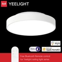 Yeelight     plafonnier LED  320mm  23W  220V  telecommande via application Mijia  WIFI  Bluetooth  fonctionne avec Apple Homekit