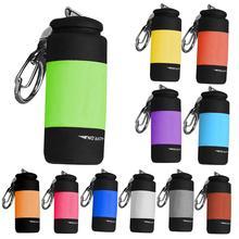 Minilinterna LED portátil para exteriores, linterna impermeable con batería integrada, recargable por USB, para senderismo y Camping