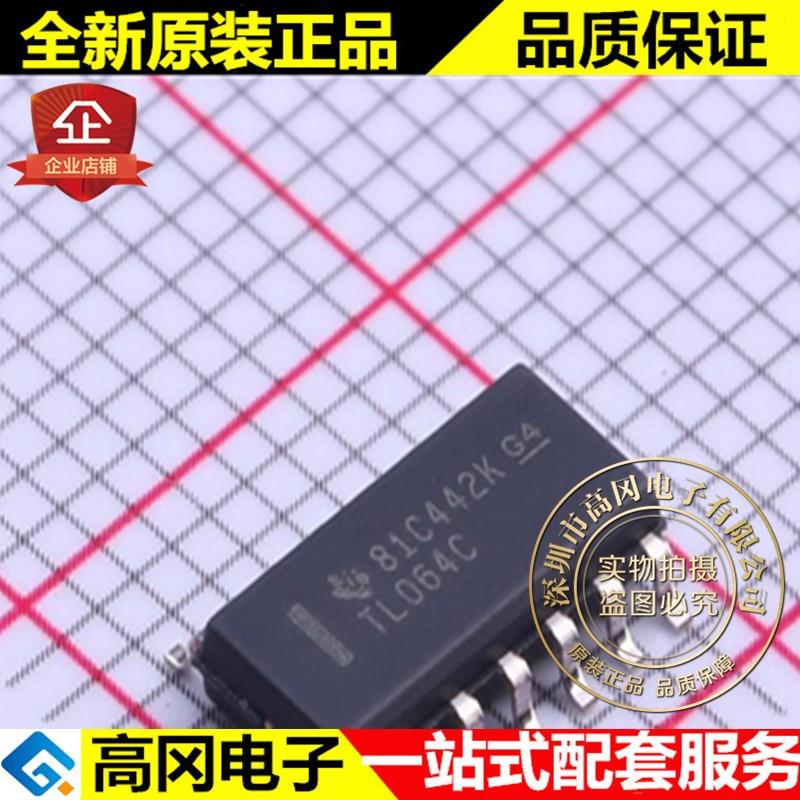 5 peças TL064CDR SOIC-14 TL064C TI 4 JFET