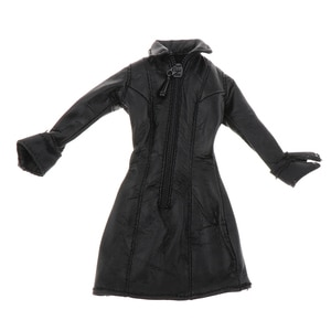1/12 Scale Action Man Female Clothes Fashionable Black for   Supplies