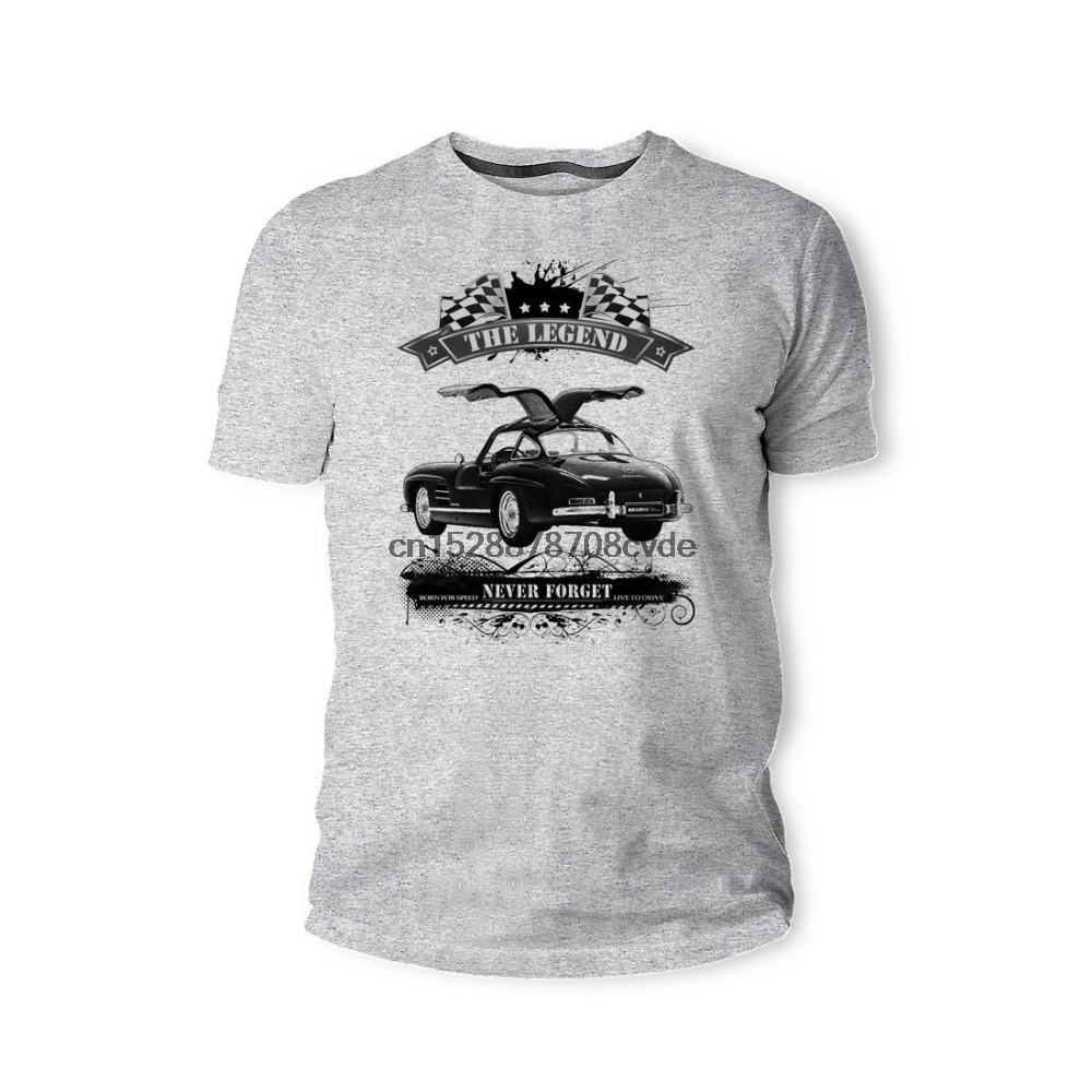 2019 nueva camiseta para hombre C0413-Mercedes-Benz Youngtimer Oldtimer Herren camiseta