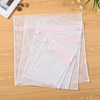 white coarse mesh laundry bags for washing machines lingerie laundry wash bags modern petpe polyester laundry bag