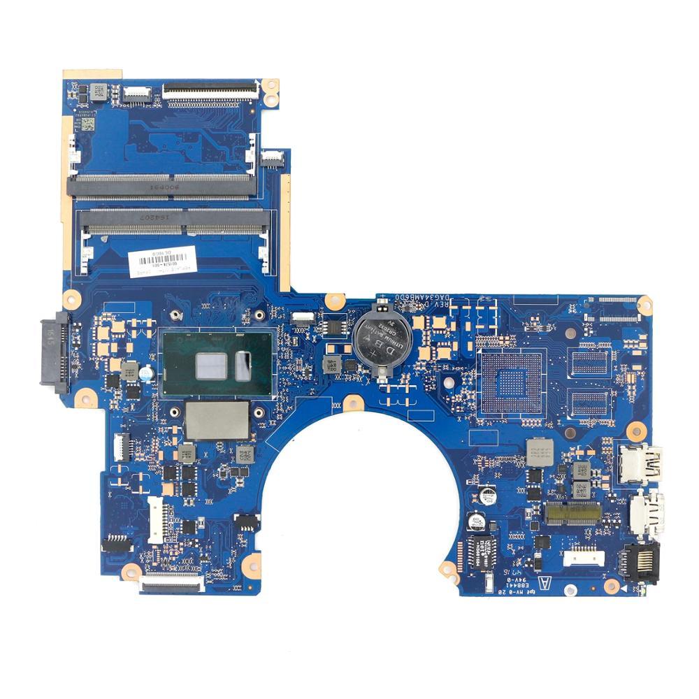 901574-601, 901574-501, 901574-001 UMA DDR4 placa base G34A DAG34AMB6D0 w/ i5-7200u CPU para HP 15-AU serie