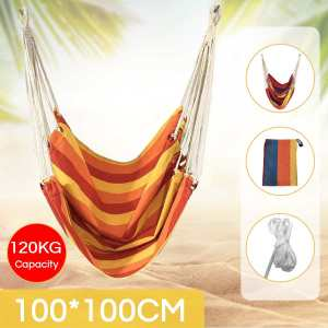 Indoor Outdoor Hammock Chair Hanging Chair Swing Chair Seat Garden Hammock