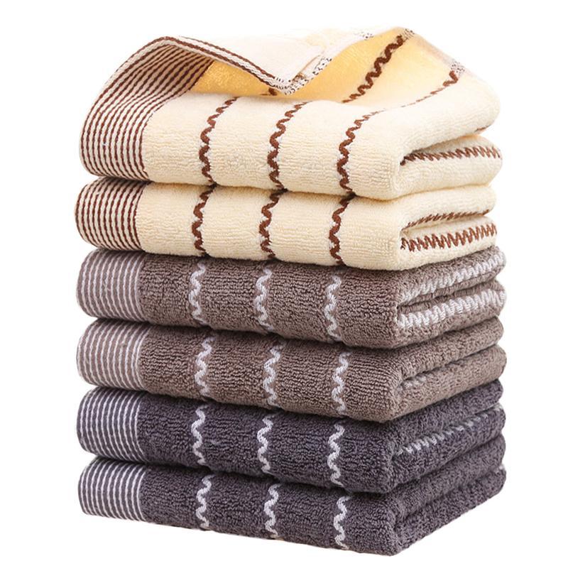 Toallas suaves de algodón Jacquard, toallas de baño de giro débil, toallas de mano, toallas de absorción de agua para el hogar, peluquero, tiendas de regalos