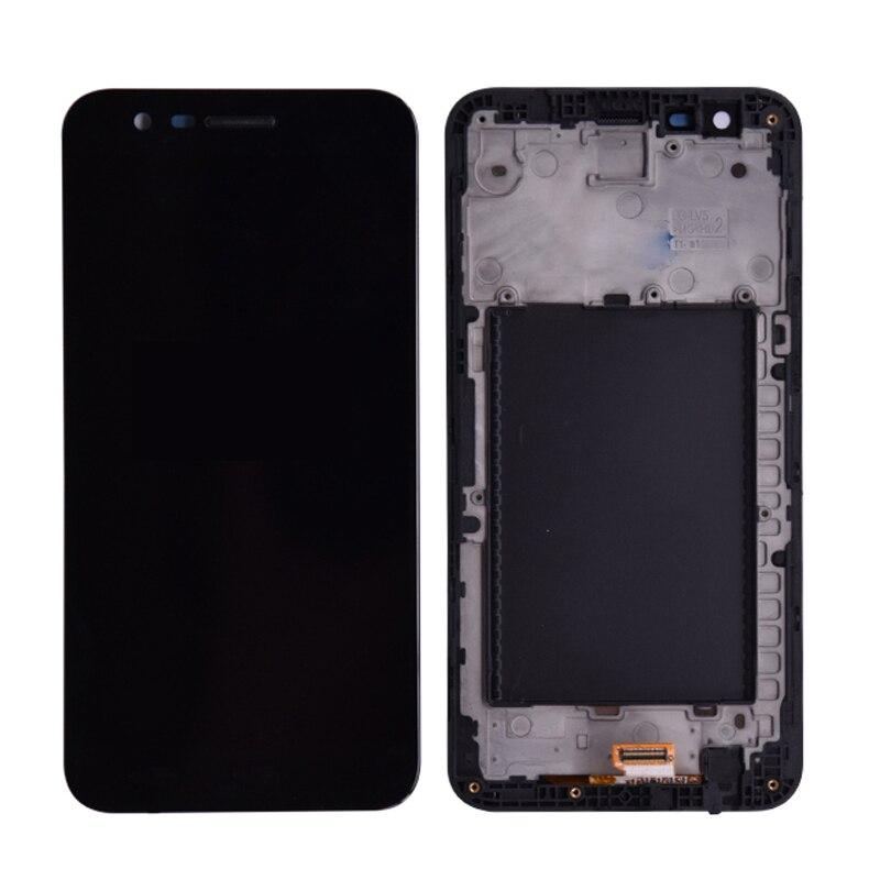Pantalla LCD Original para LG K20 Plus K10 2017 M250 M250N pantalla LCD Digitalizador de pantalla táctil conjunto de repuesto con marco