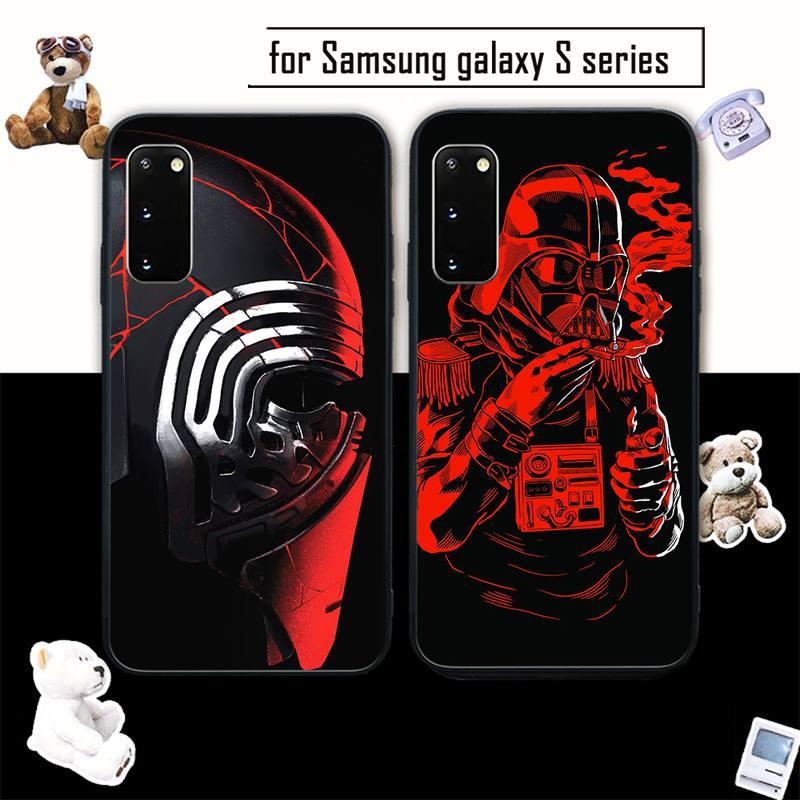 Черный мягкий чехол для Samsung galaxy s6 s7 edge s8 s9 s10 s10 lite s20 ULTRA plus coque