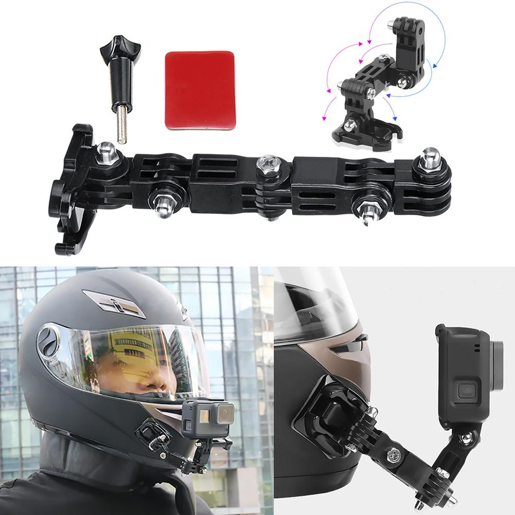 AliExpress - Adhesive Full Face Helmet Front Chin Mount Holder Chin Stand Camera Accessories for Gopro Hero 6 5 4 3 Action Camera
