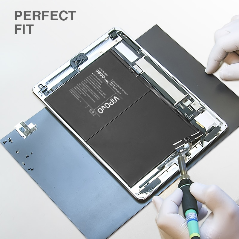 VIPOVO Tablet Battery For iPad 5 Air iPad 6  A1474 A1475 9800mAh Replacement Tablet Battery for iPad Mini 4  Mini 5 + With Tools enlarge