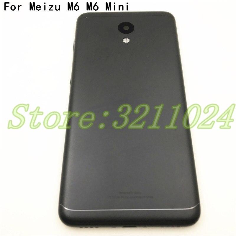 """Original nuevo 5,2 """"para Meizu M6 m6 mini M711H M711Q batería contraportada piezas carcasa + botones lente de cámara + teclas laterales"""